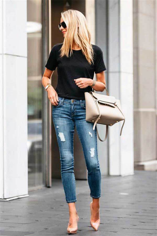 Outfit Skinny Denim