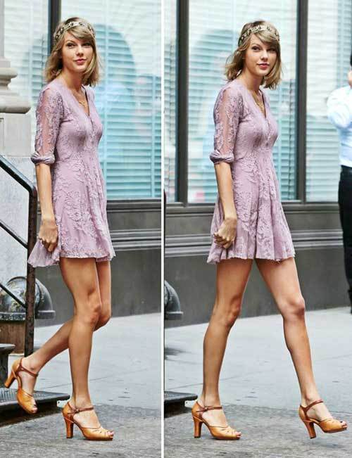 Taylor Swift Cute Dress Outfits