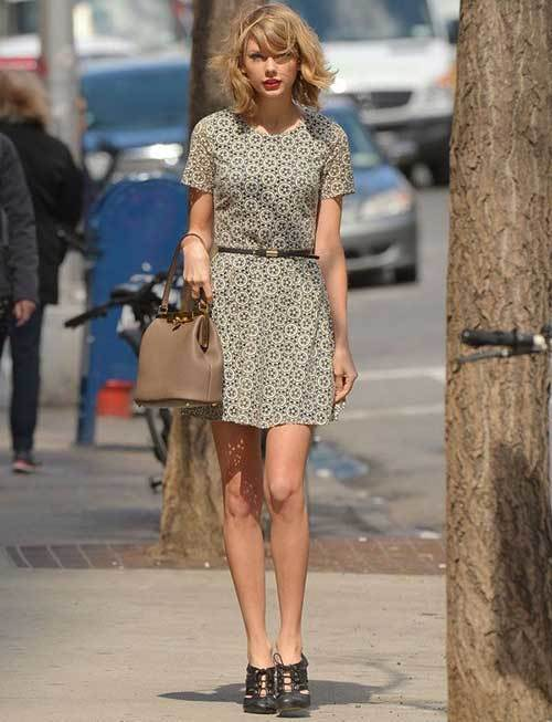 Taylor Swift Mini Dress Outfits