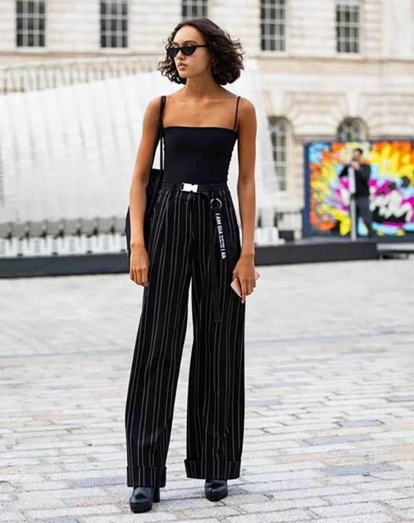 Wide Legged Pants London Street Style