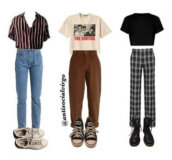 Sexless Outfits for School