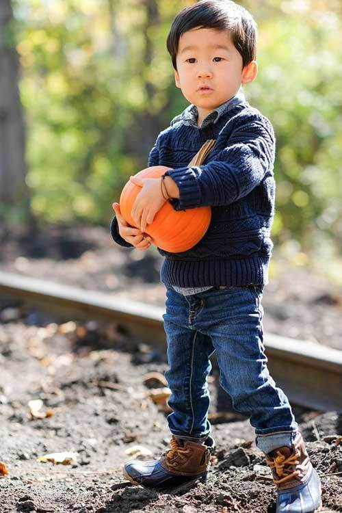 Autumn Style Outfits for Toddler Boy
