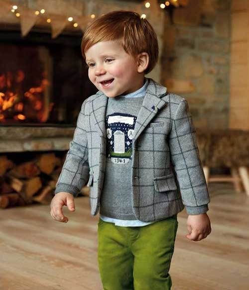 Baby Blazer Autumn Outfits for Toddler Boy