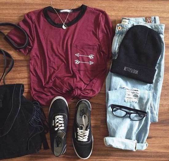 Outfits for High School