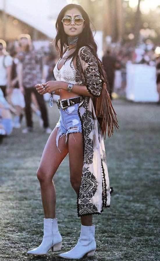 Boho Style Festival Outfits Women
