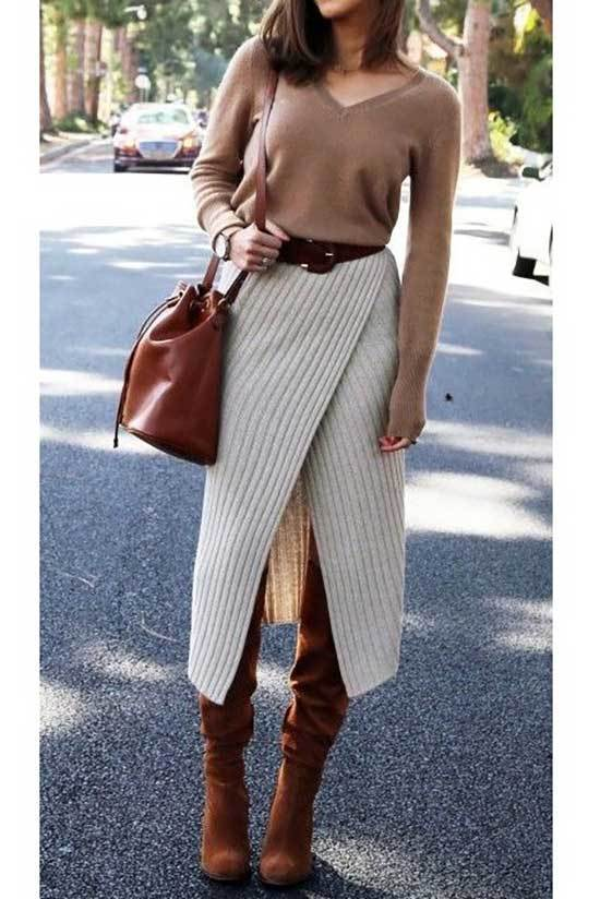 Brown Boots Spring Outfit Ideas