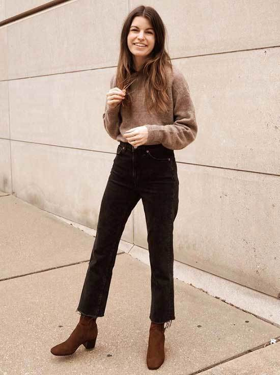 Brown Boots Vintage Outfit Ideas
