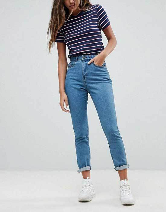 Casual Cute Outfits with Blue Jeans