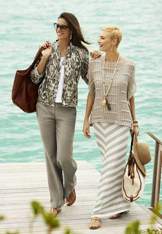 Chic Spring Outfits for Over 50