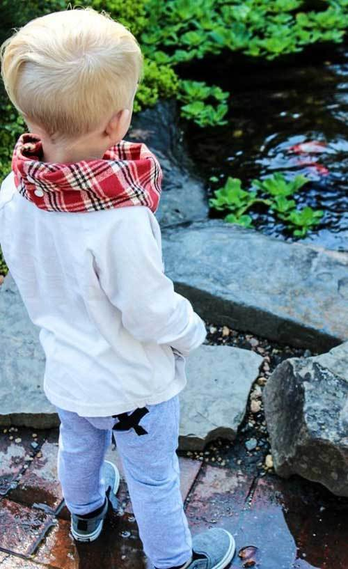 Autumn Scarf Outfits for Toddler Boy-8