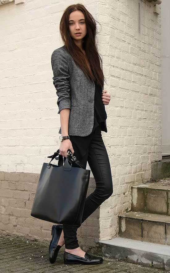 Simple Office Blazer Outfits