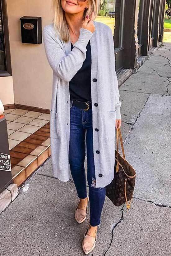 Spring Cardigan Outfits for Women