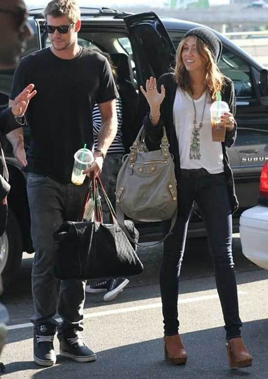 Miley Cyrus Casual Spring Outfits