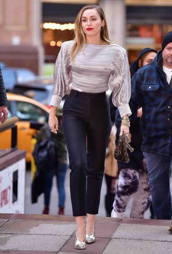 Miley Cyrus Classy and Cute Outfits