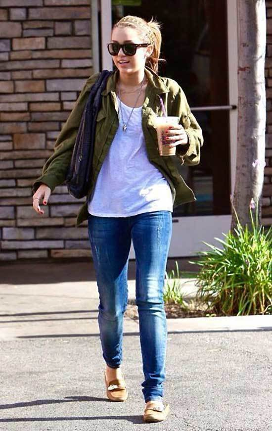 Miley Cyrus Spring and Fall Outfits
