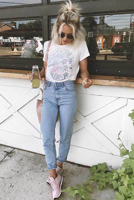 Sneakers and Jeans Outfit