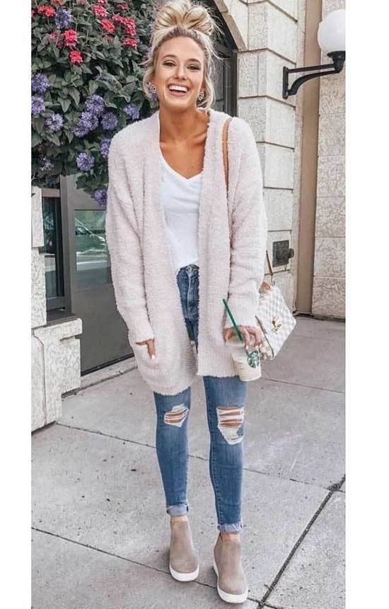 Spring Jeans Outfits for Women