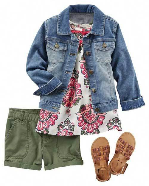 Cute Little Girl Floral Dress Outfits-10
