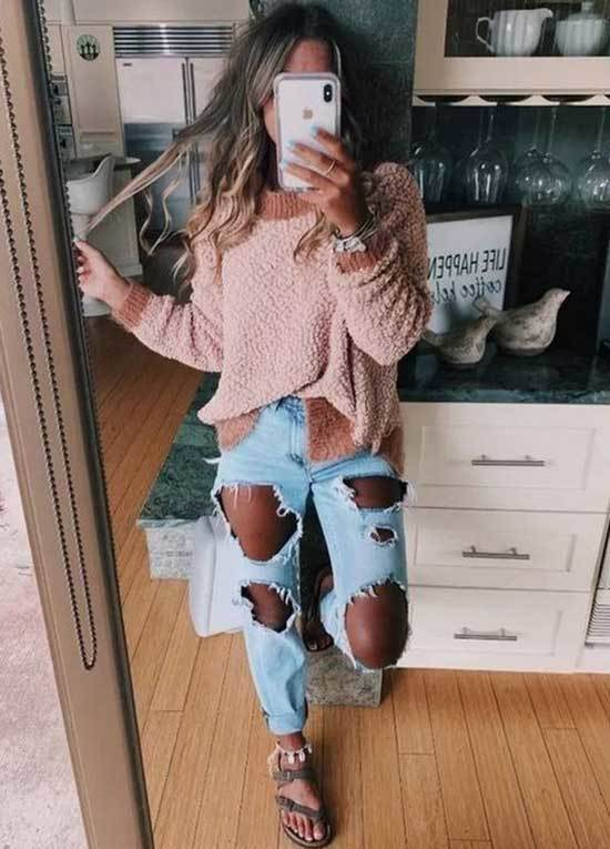 All Ripped Outfit Ideas for School-13