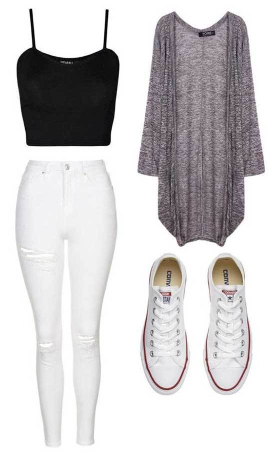 Outfit Ideas for School-18