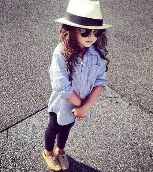 Cute Little Girl Street Style Outfits-8