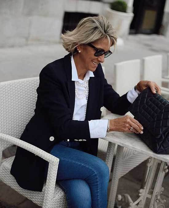 Casual Business Outfits for Over 50