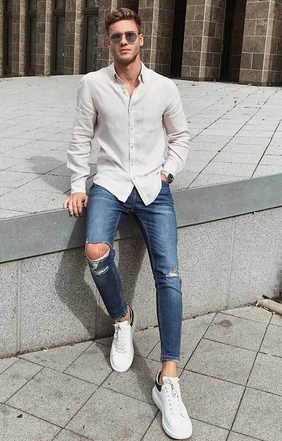 Business Casual Shirt Outfits Men