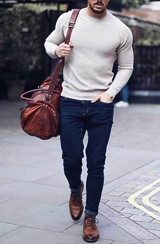 Business Casual Winter Outfits Men