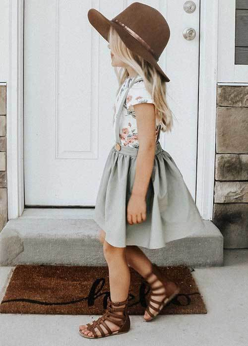 Cute Little Girl Spring Outfits