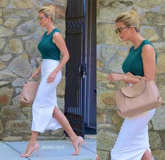 Ivanka Trump Casual Style
