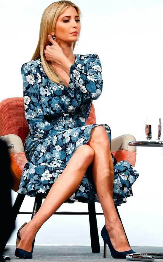 Ivanka Trump Floral Dress Outfits