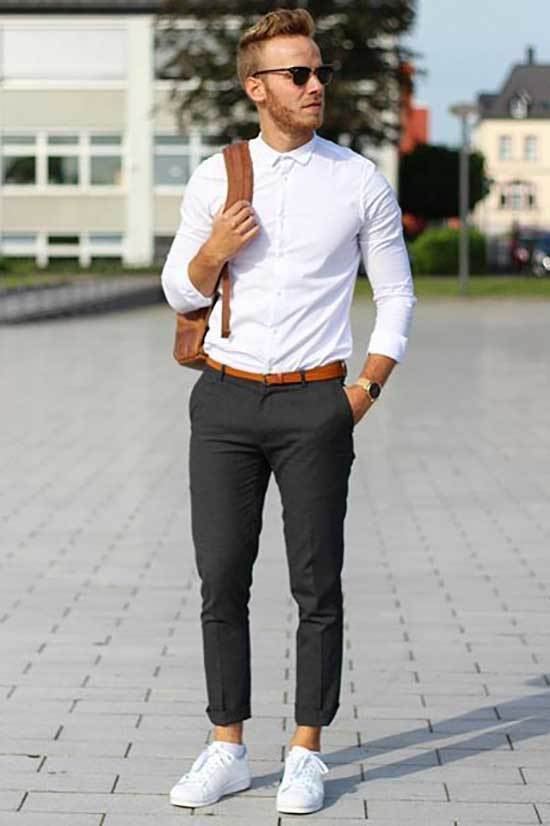Minimalist Business Casual Outfits Men