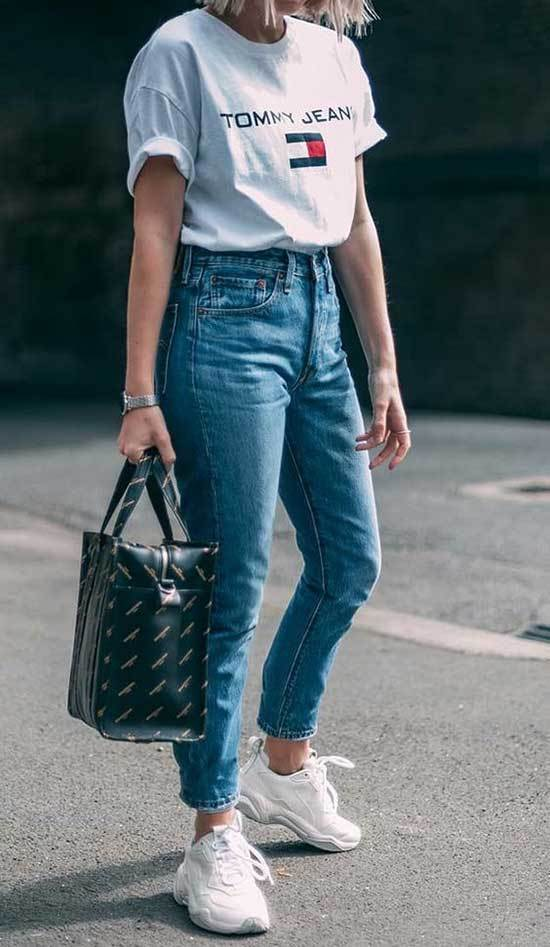 Mom Jeans Style Ideas