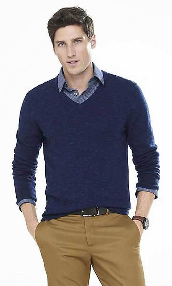 Business Casual Sweater Outfits Men