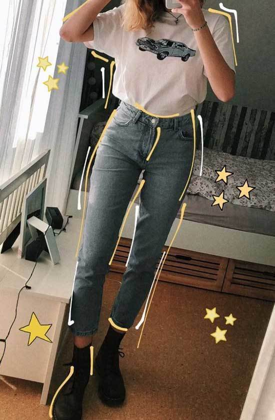 Outfit Mom Jeans