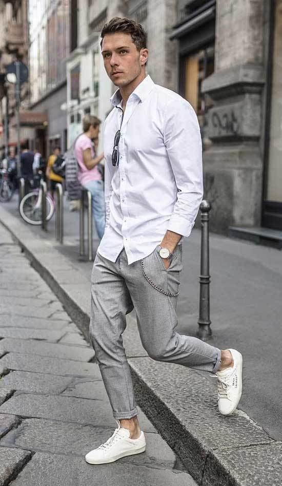 Street Style Business Casual Outfits Men