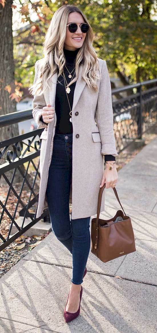 Fall Casual Work Outfits for Office
