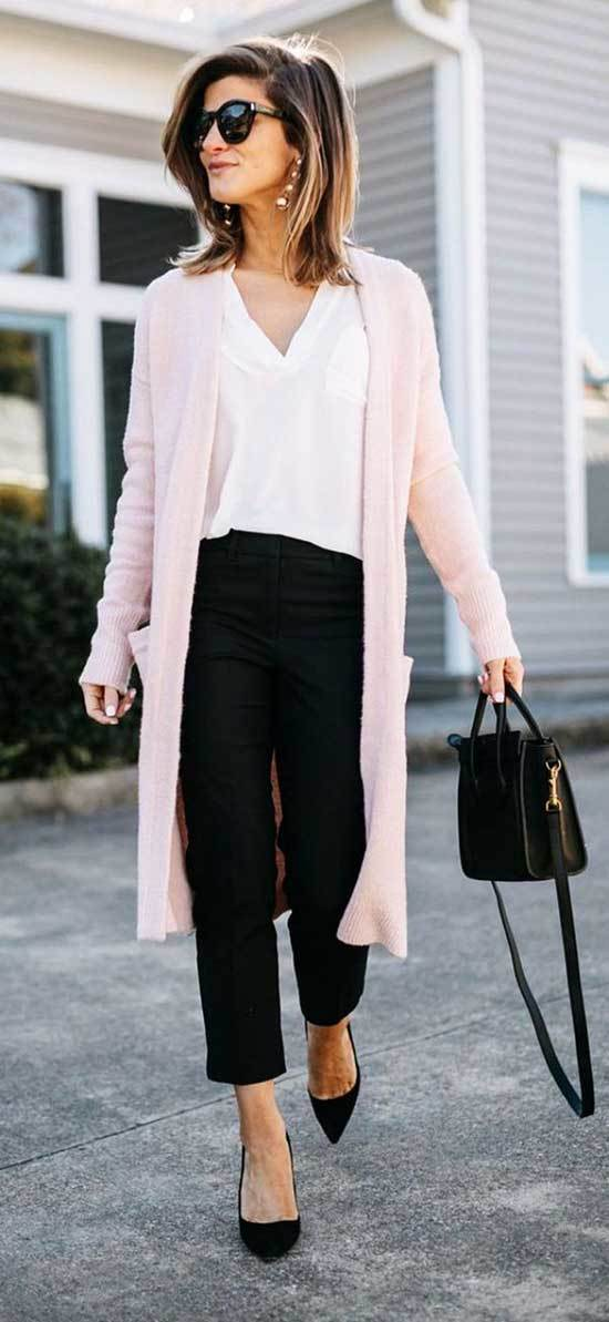Fall Casual Work Pants Outfits