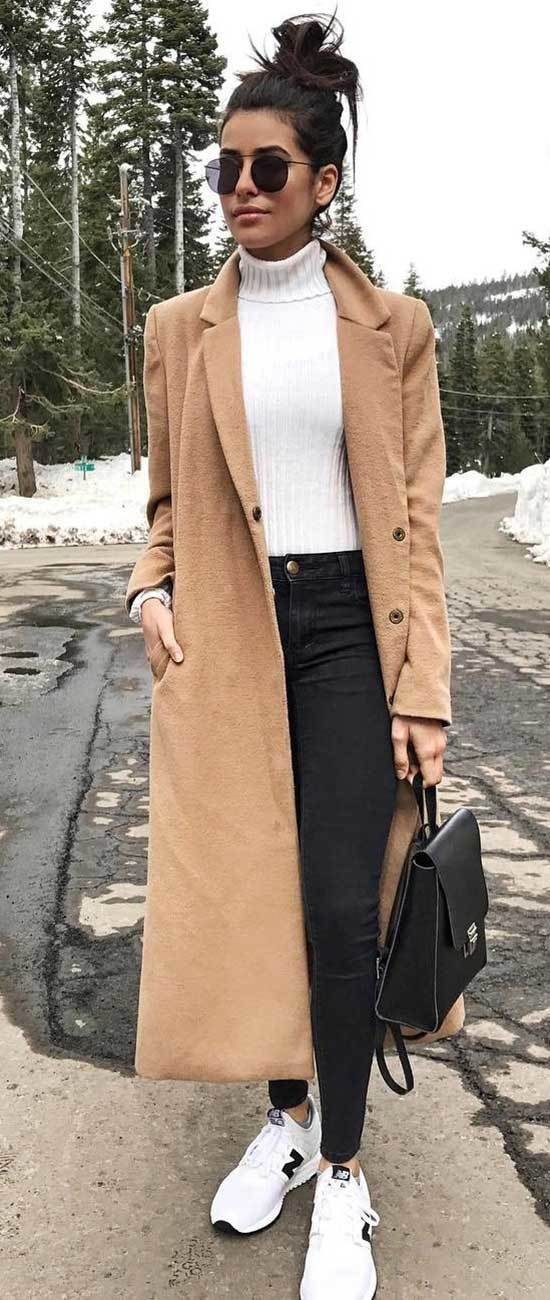 Fall Casual Work Coat Outfits