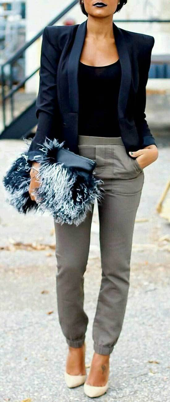 Latest Fall Casual Work Outfits