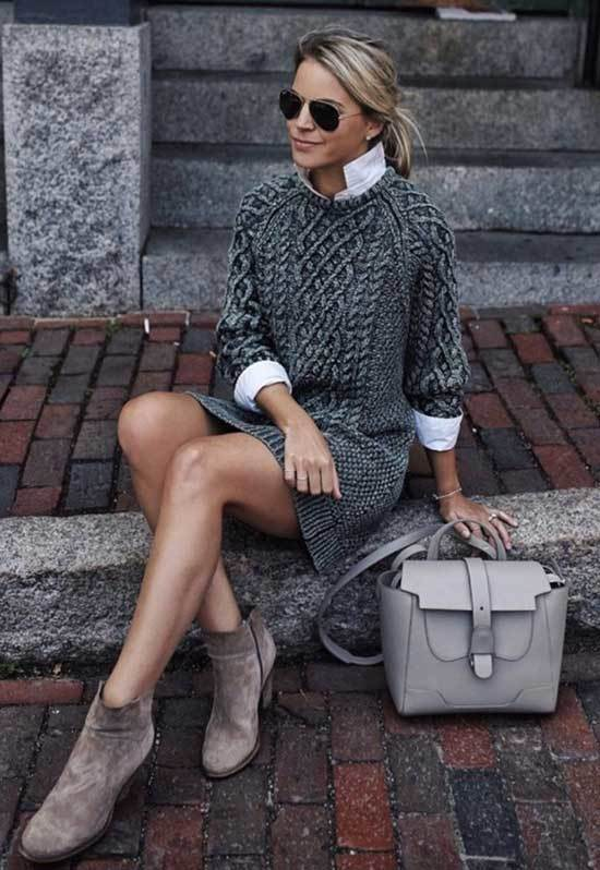Fall Casual Work Dress Outfits