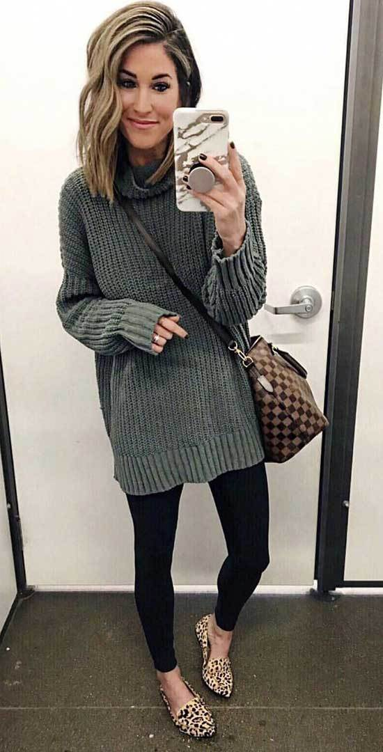 Fall Casual Work Sweater Outfits