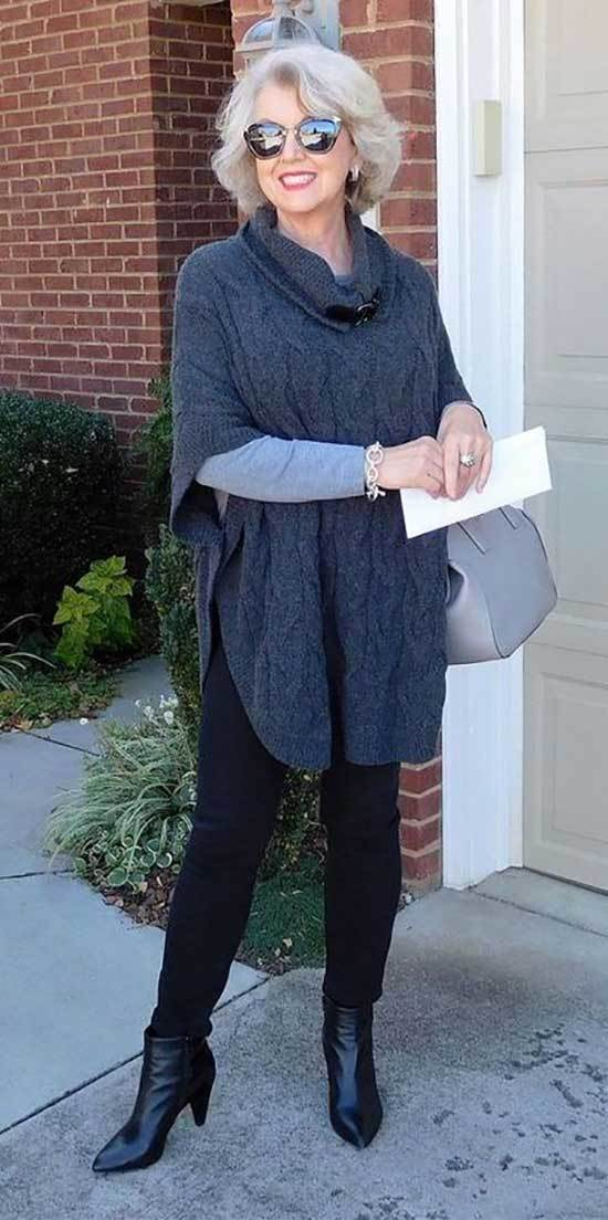 Casual Fall Outfits for Women Over 50