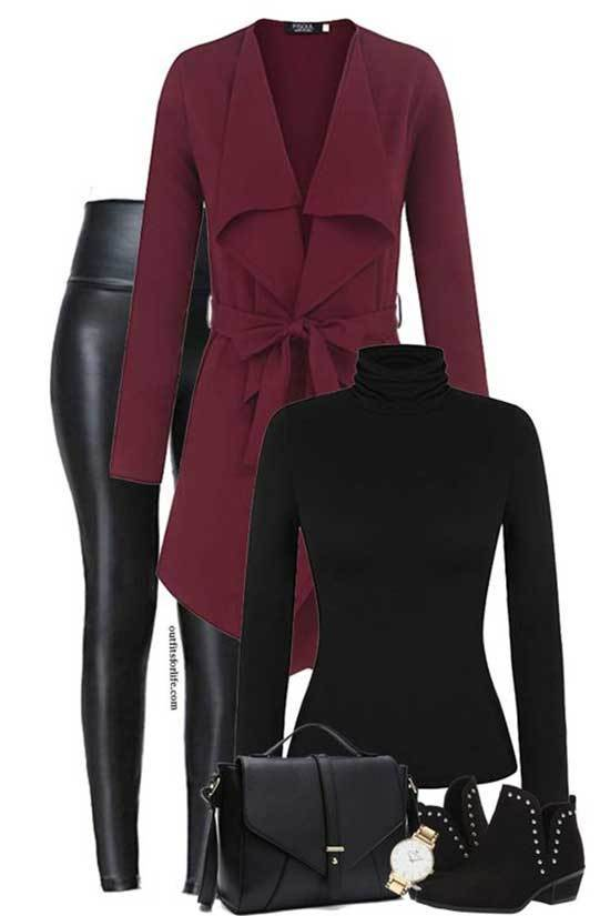 Chic Fall Casual Work Outfits