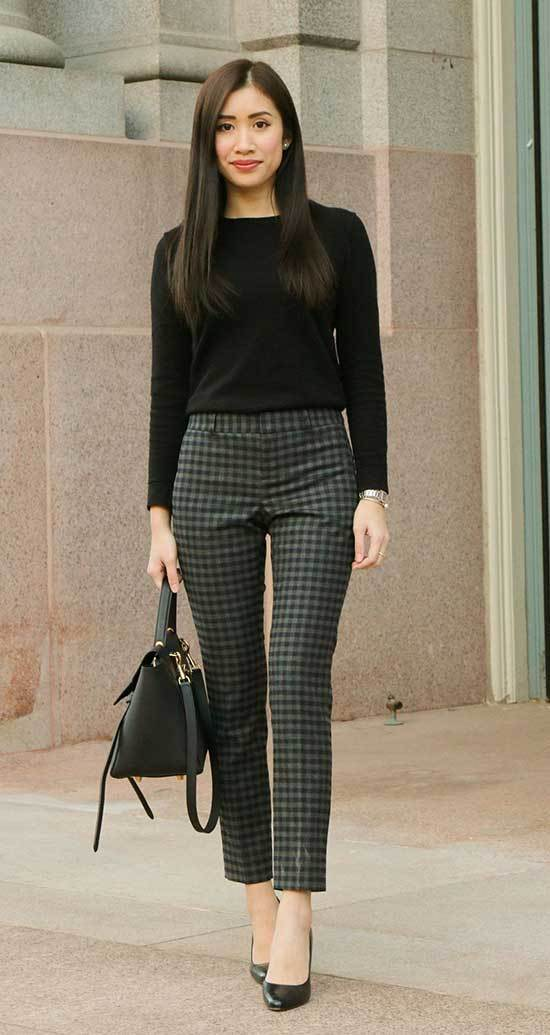 Classy Fall Casual Work Outfits