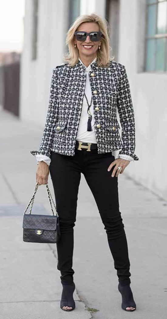 Classy Fall Outfits for Women Over 50