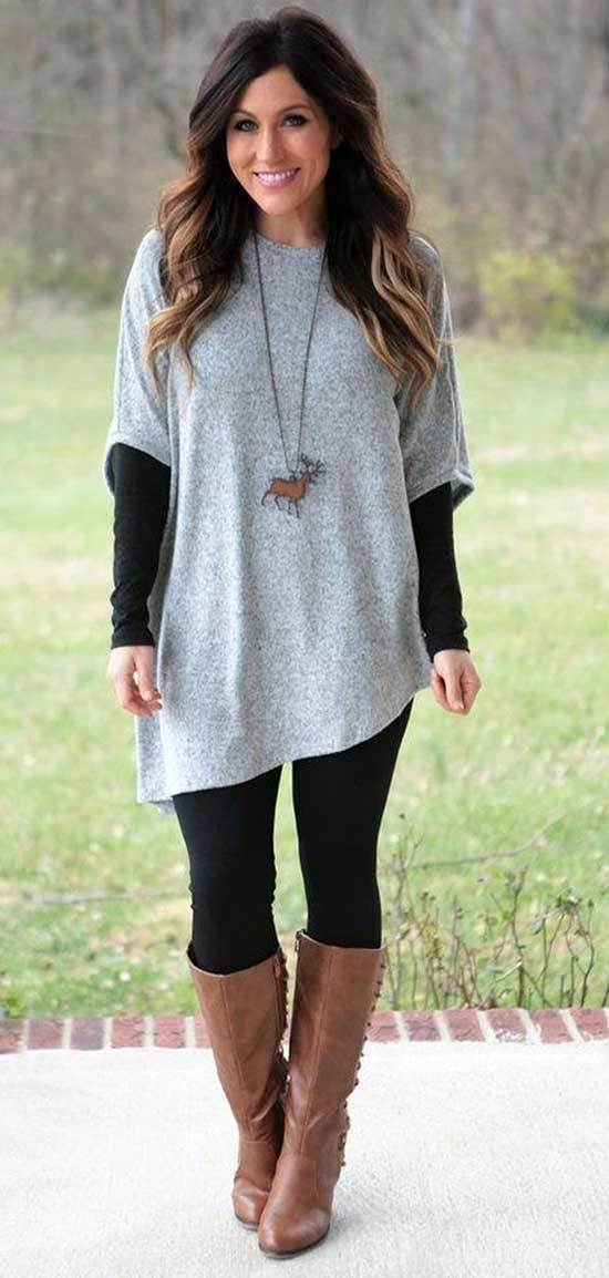 Cozy Fall Casual Work Outfits