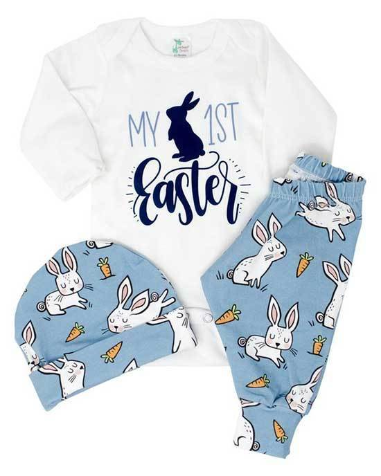 Kids Easter Cartoon Outfits