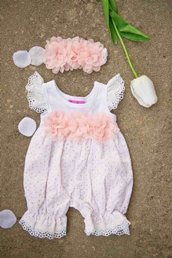 Newborn Kids Easter Outfits