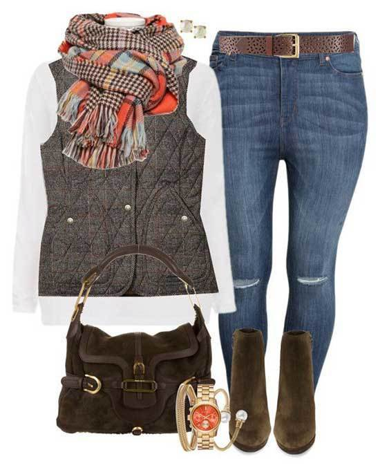 Denim Fall Outfits for Women Over 50